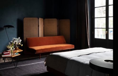 Stay the night then buy the furniture at this upcoming Milan hotel