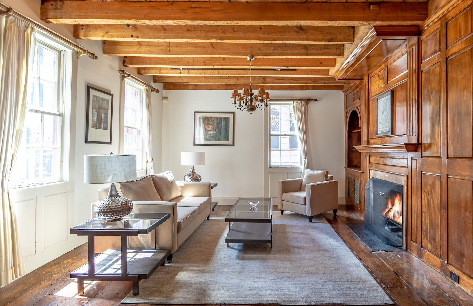 Rare 200-year-old wooden townhouse in Manhattan lists for $12m