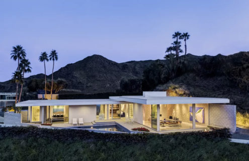 Lance O'Donnell designed Palm Springs pad hits the market for $3.5m