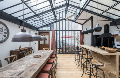 An industrial Parisian apartment hits the market for €2.295m