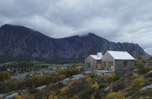 A fisherman's cottage south of the Arctic Circle is a tranquil retreat