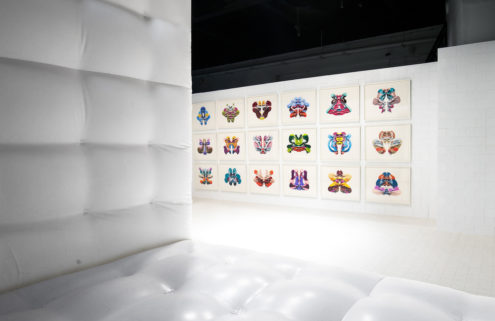Cj Hendry sets new Brooklyn exhibition inside a bouncy castle