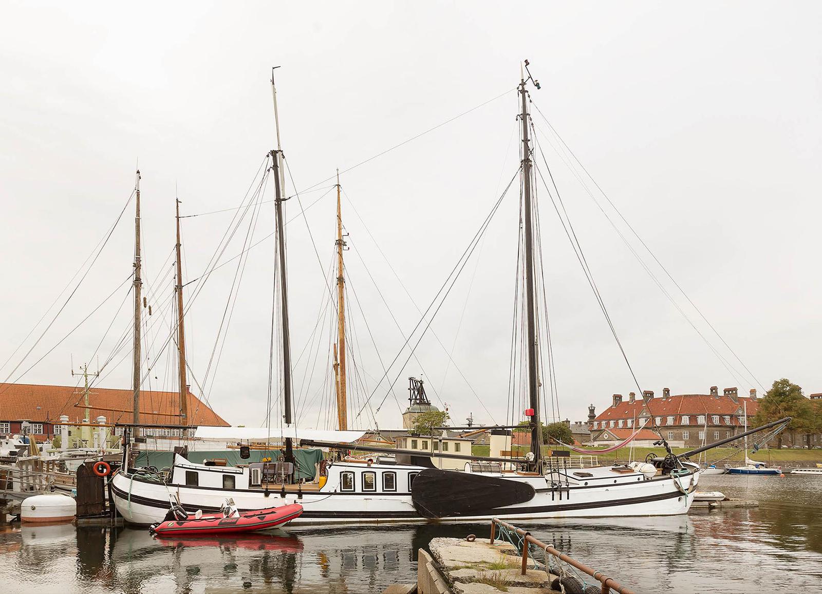 Jantje – a converted charter boat for sale in Holmen, Copenhagen