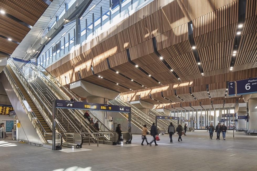 London Bridge Station. Courtesy Grimshaw