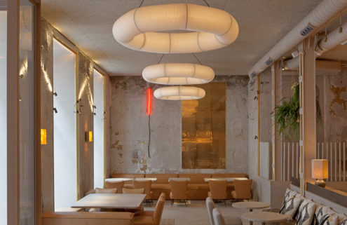 Madrid restaurant AÜAKT pays homage to its namesake