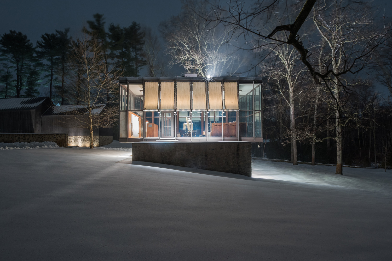 Tour Philip Johnson's Modernist masterpiece The Wiley House