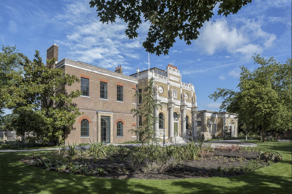 Pitzhanger Manor and Gallery. Courtesy of Jestico + Whiles