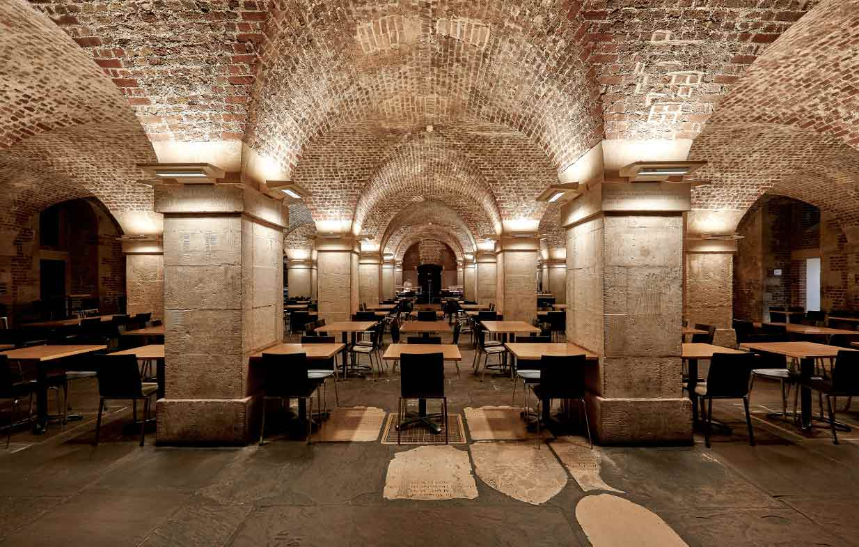 Cafe in the Crypt at St Martin in the Fields, London