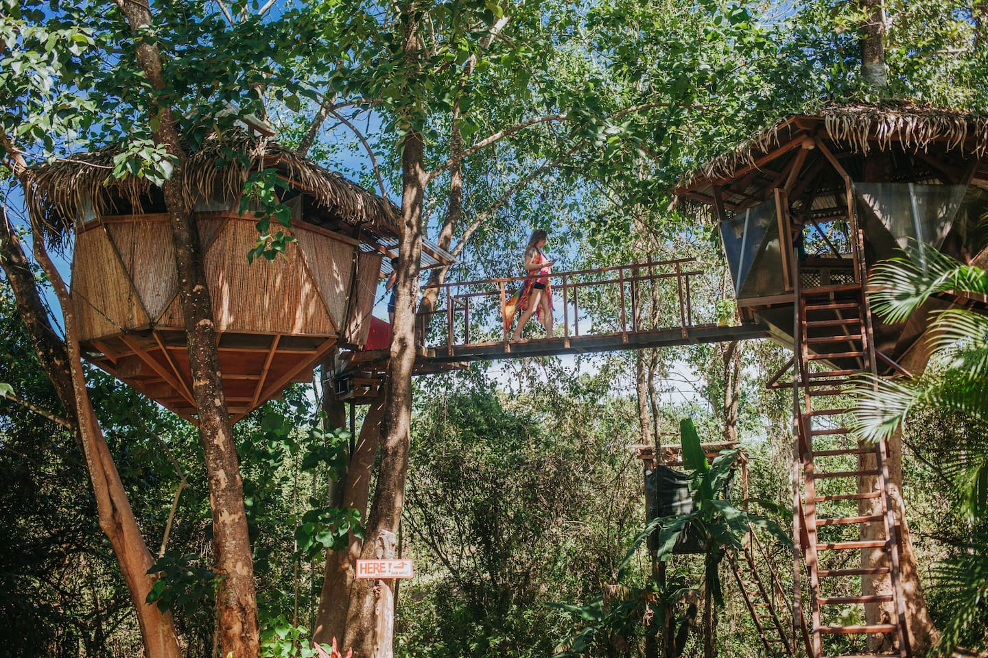 Montezuma Treehouse in Costa Rica
