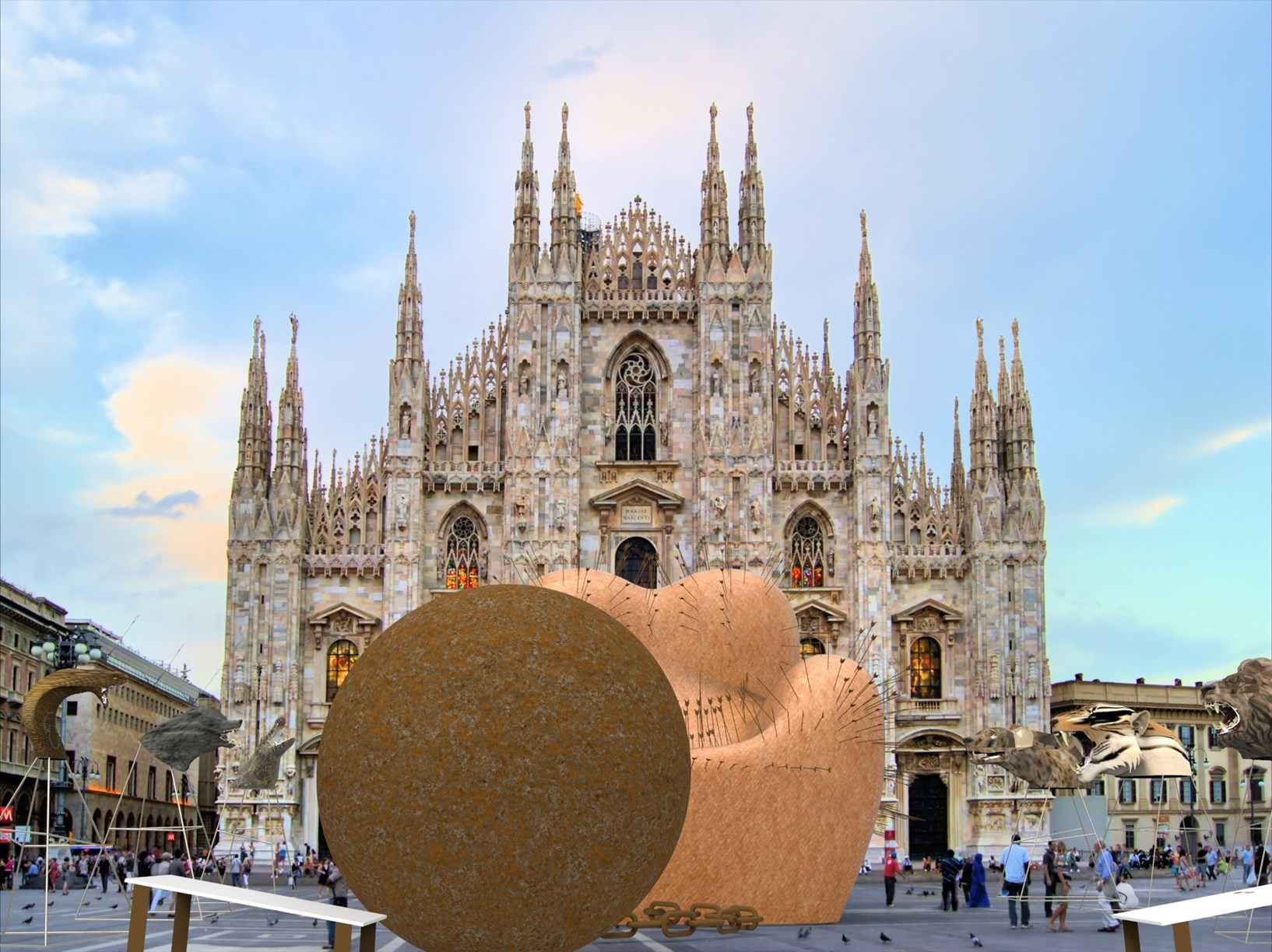 10 must-see installations at Milan Design Week: Gaetano Pesce's 'Maestà Soffrente'