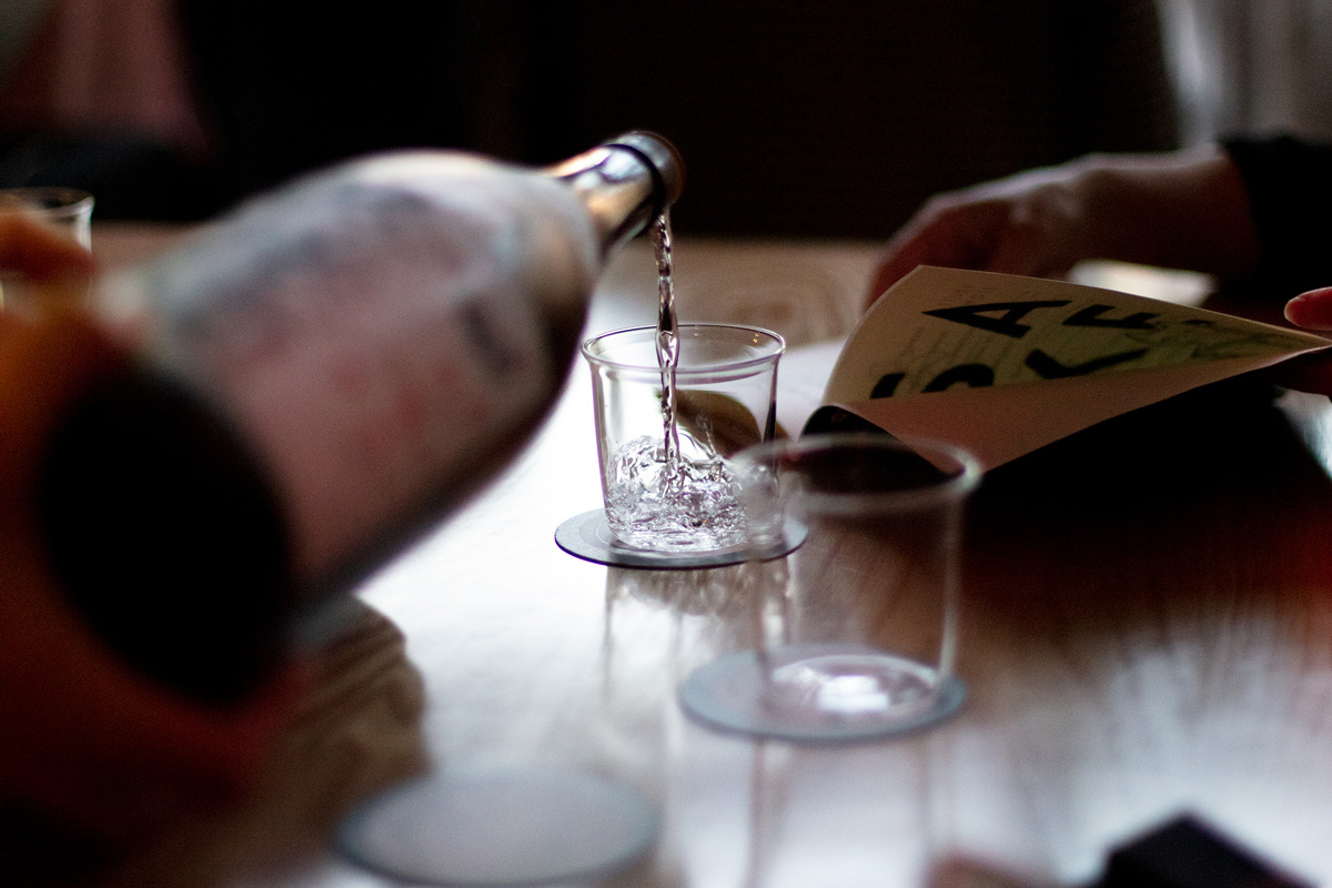 This hair salon turned sake bar brings Japanese tradition to LA