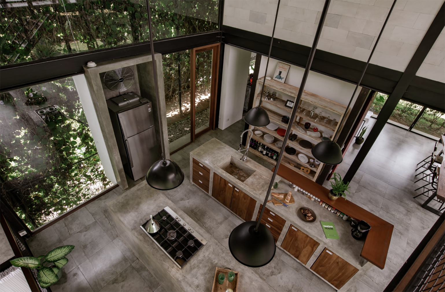 A taste of tropical modernism near Bali's Ubud: Haigha House