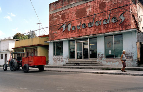 Cuba's faded cinemas are cast in a starring role by photographer
