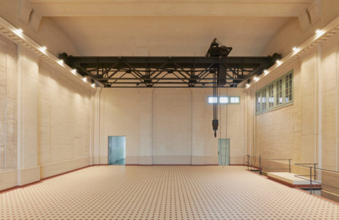 A defunct power plant is being transformed into an art gallery near Berlin