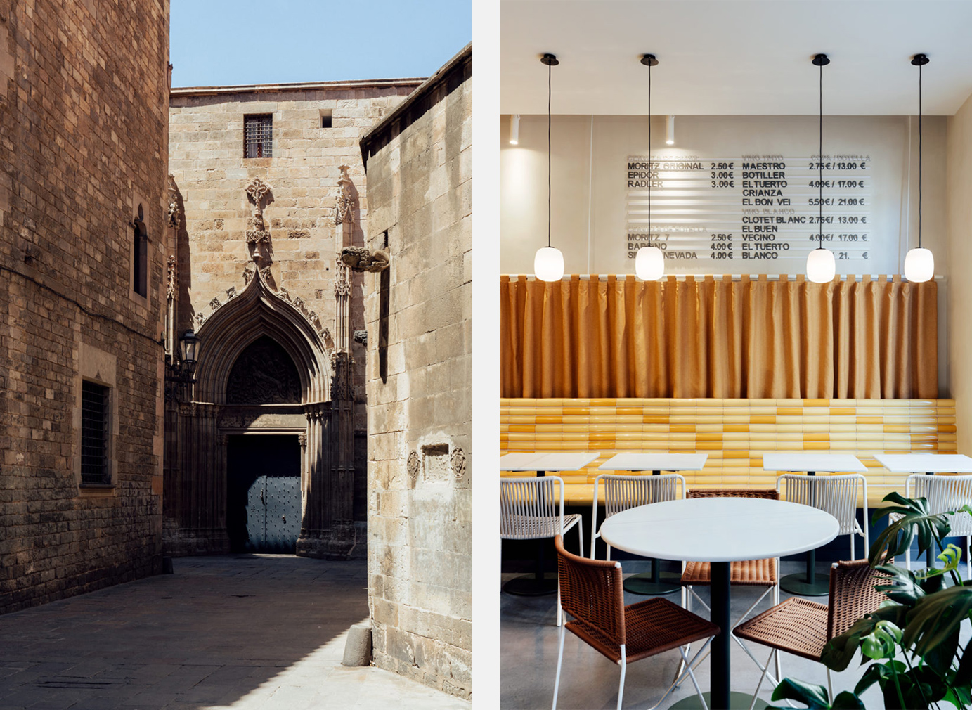 Barcelona's Bunsen restaurant designed by Mesura