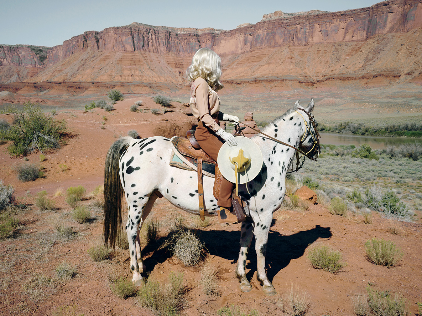 'The Imaginary Cowboy'. Photography: Anja Niemi (c) 2019