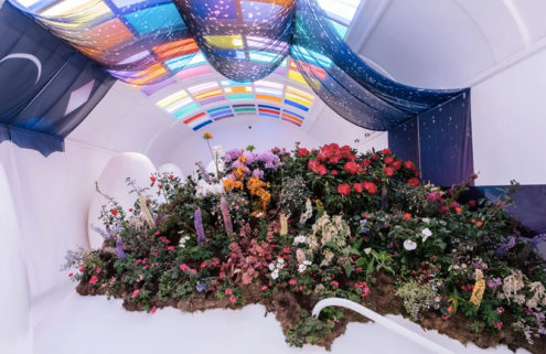 Instagram's favourite London restaurant is filled with blooming gardens