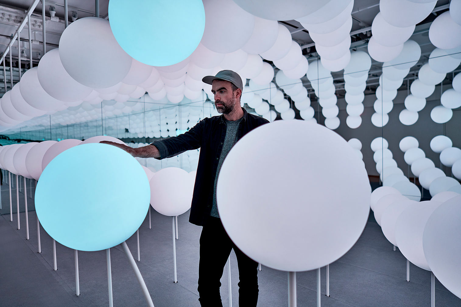 Snarkitecture's new installation puts a spin on the classic 'funhouse'