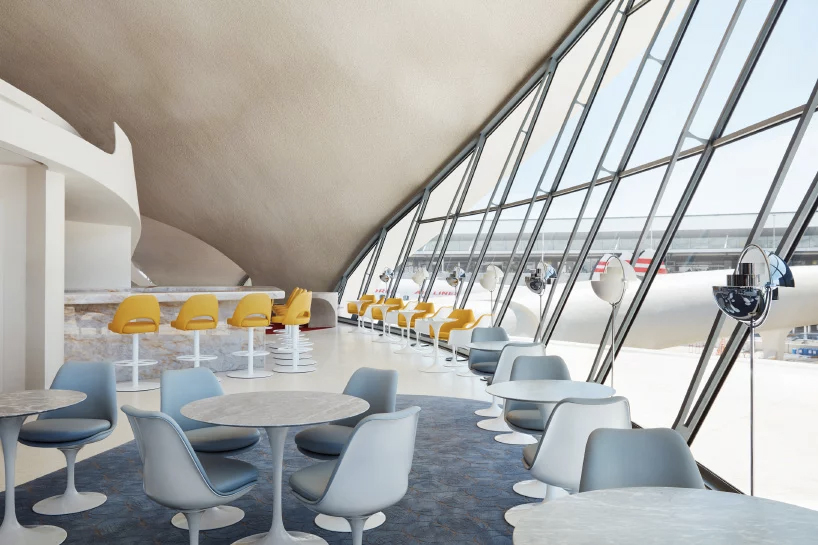 Eero Saarinen's JFK terminal reopens as the TWA Hotel