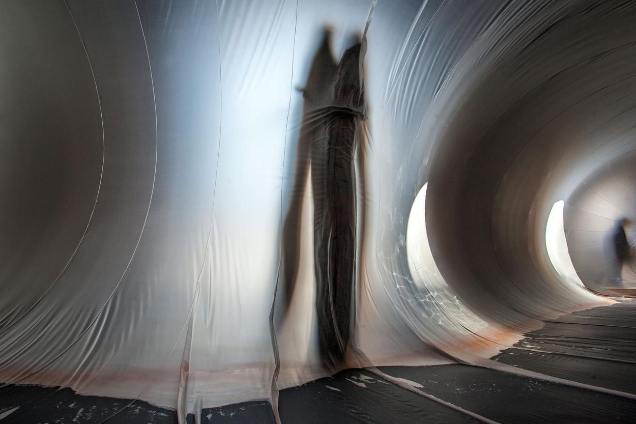 Plastique Fantastique creates a blurry dreamscape at the Venice Biennale