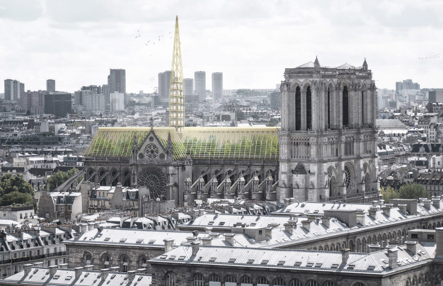Phenomenal Could Notre Dames Roof Be Rebuilt As A Giant Greenhouse Home Remodeling Inspirations Genioncuboardxyz