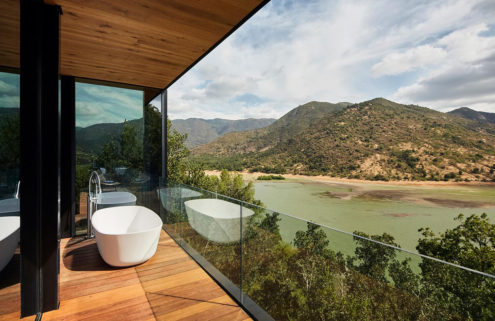 Puro Vik is a hillside retreat in one of Chile's most celebrated wine valleys
