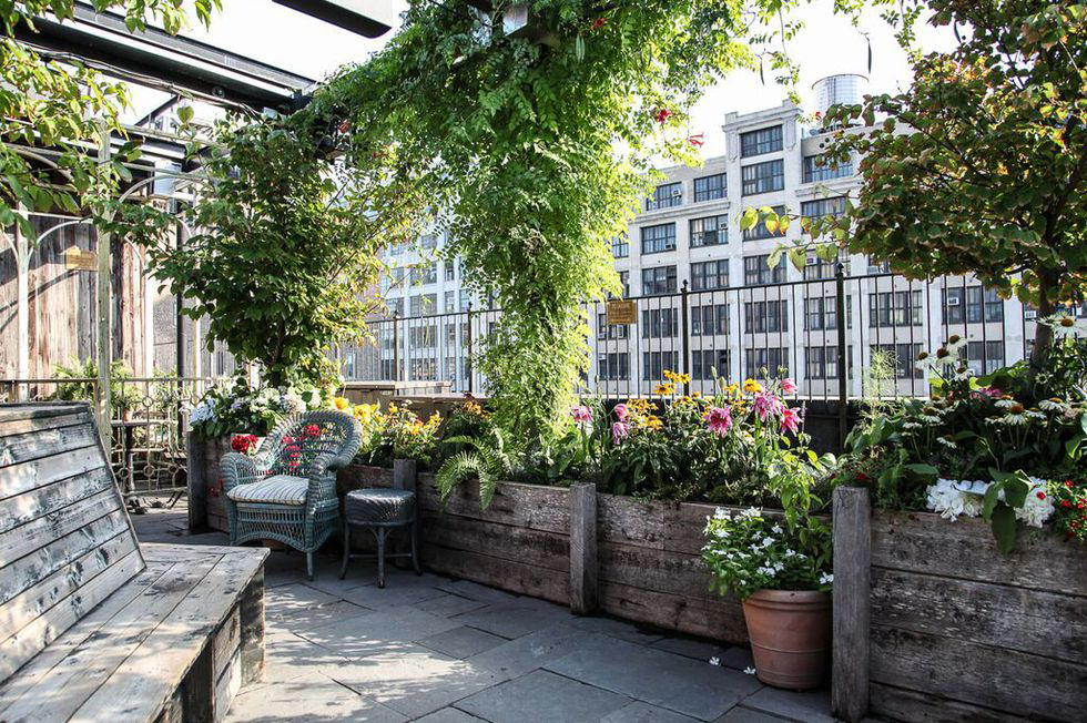 8 of our favourite New York rooftop bars this summer: Green Gallow at the McKittrick Hotel