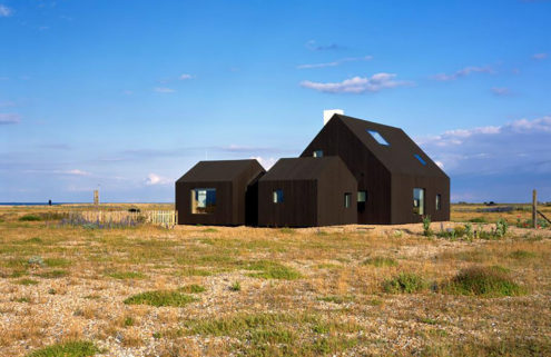 Barn-like home on Dungeness beach lists for £995k