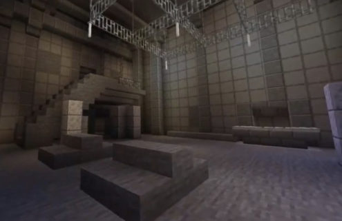 Someone recreated Berghain nightclub in Minecraft