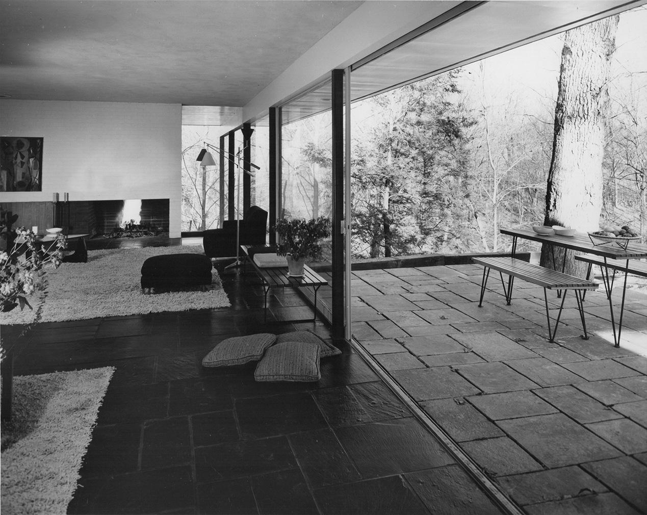 Corwin House circa 1955. Courtest Compass