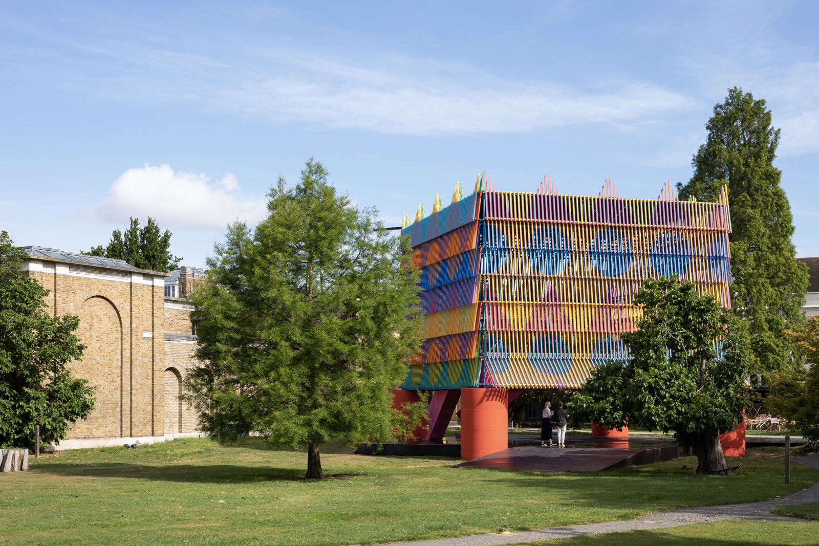 Dulwich Picture Gallery - The Colour Palace pavilion 2019 for sale via The Modern House