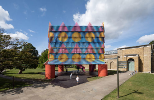 Dulwich's Colour Palace pavilion is for sale