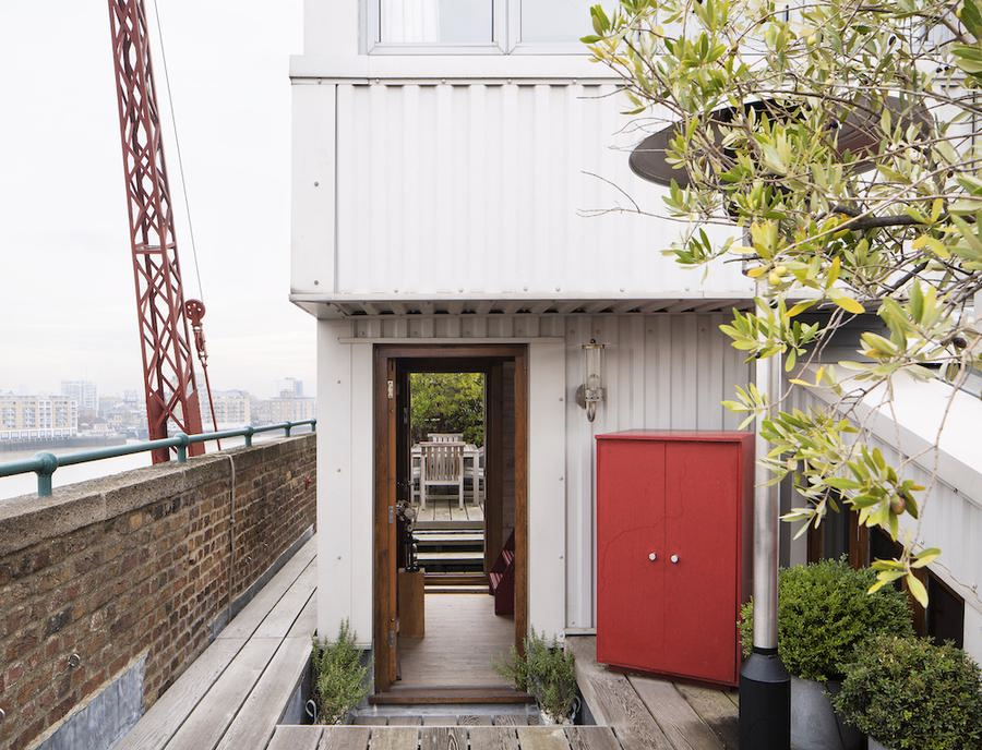 Globe Wharf converted granary apartment for sale in London