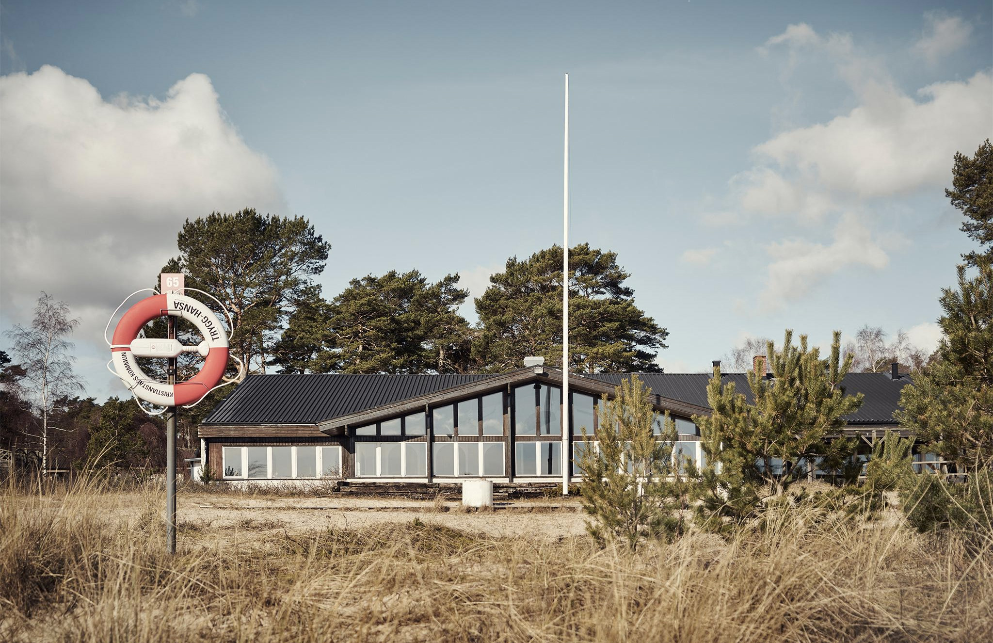Historic 1930s beach resort for sale in Sweden's Skåne via Fantastic Frank