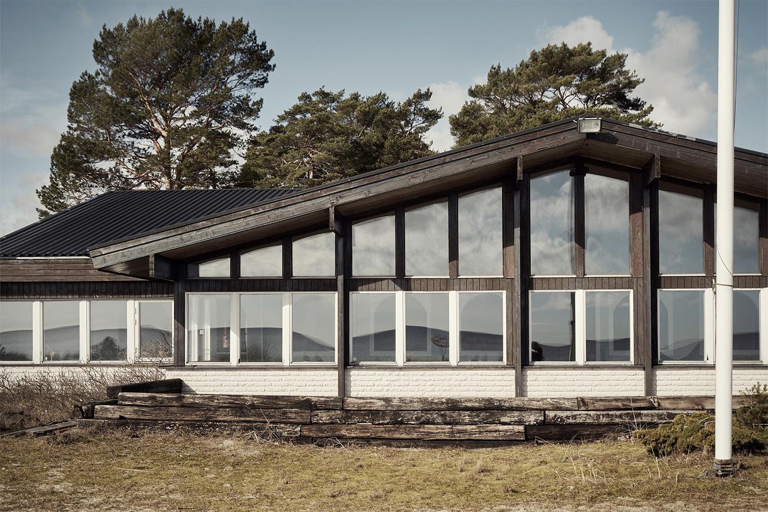 Historic 1930s beach resort for sale in Sweden's Skåne via Fantastic Frank