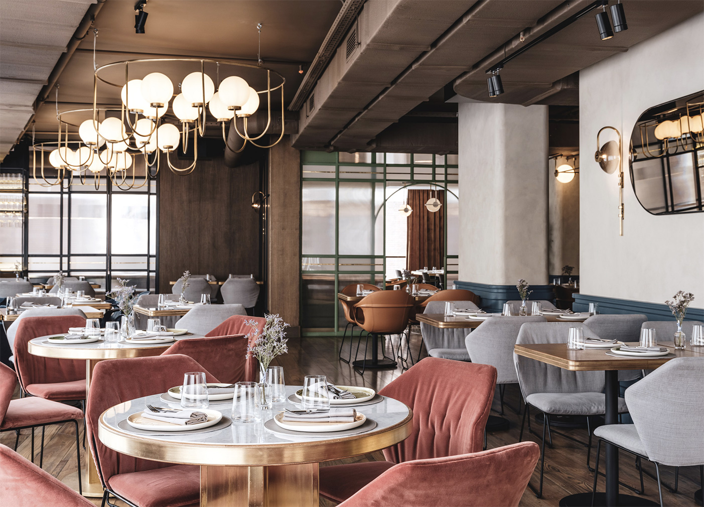 Can you spot the Wes Anderson influence at this Moscow restaurant?