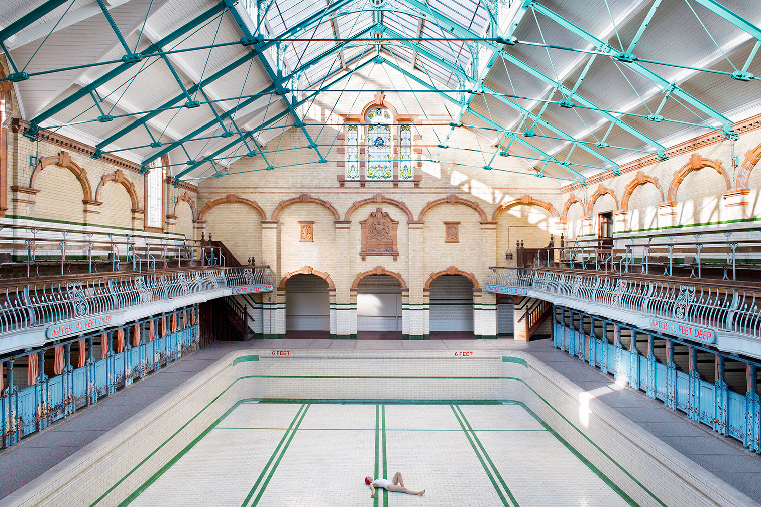 'Victoria Baths in Manchester'. Photography: Soo Burnell