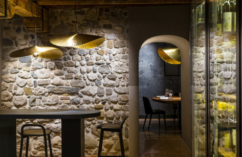 Udine's 150-year-old restaurant Vitello d'Oro gets a refurb