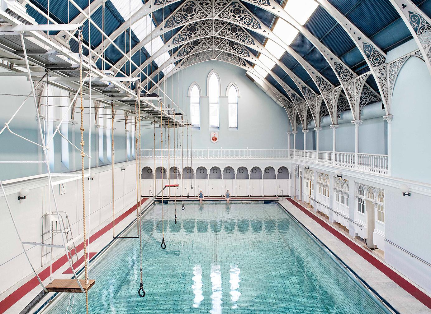 'Western Baths in Glasgow'. Photography: Soo Burnell