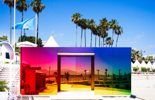 The technicolour dreamcoat of pavilions has pitched up in Cannes