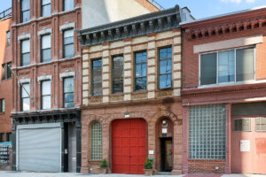 Converted firehouse for sale in Williamsburg, Brooklyn