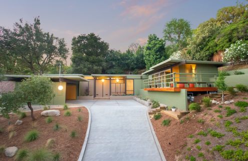 Restored post-and-beam for sale in Pasadena for $2.089m