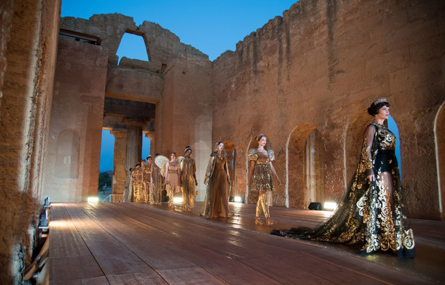 You can go inside this ancient Greek Temple in Sicily for the first time thanks to Dolce & Gabbana