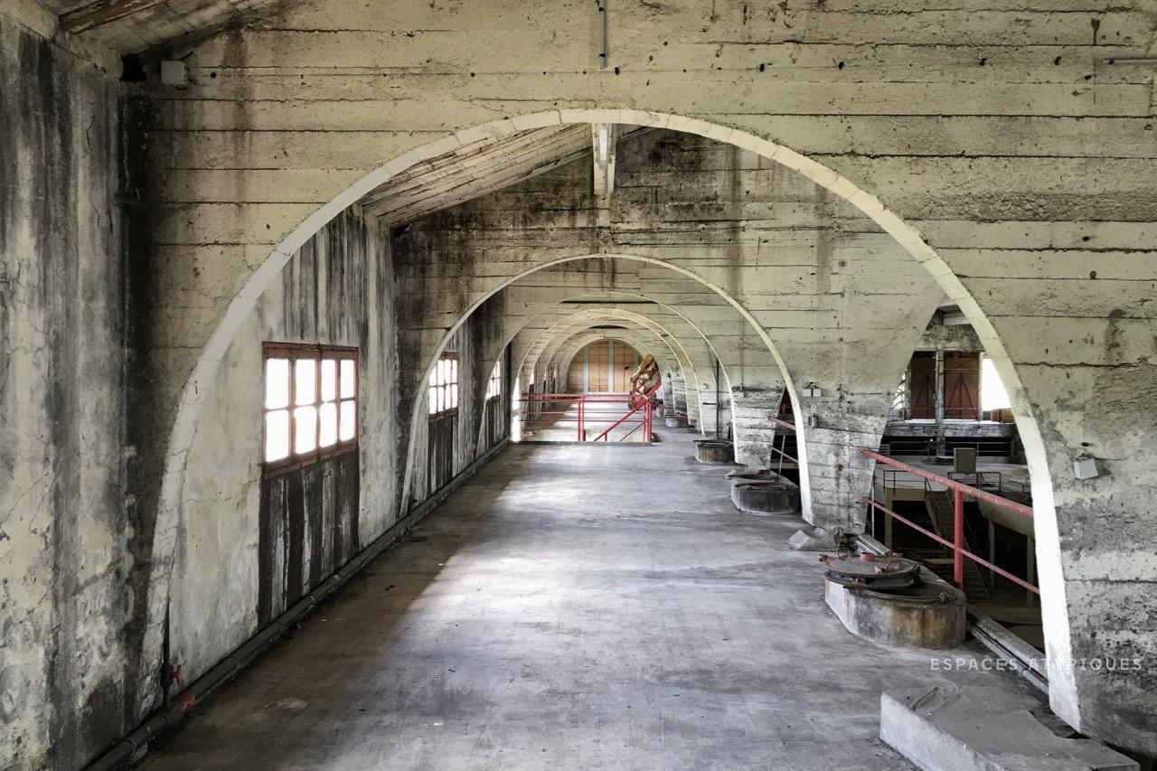 Vast 'Brutalist' warehouse lists for €550k in France's Saint-Emilion