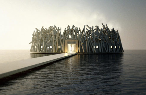 Sweden's floating Arctic Bath hotel sets opening date