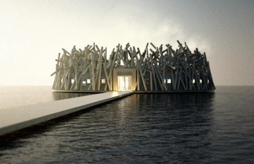 Sweden's floating Arctic Bath hotel sets opening date