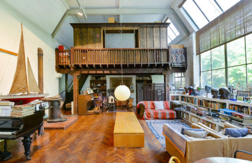 A converted sculptor's studio hits the market in London for £3m