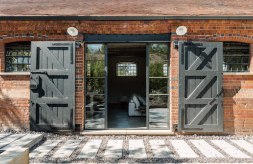 Inside a converted Arts & Crafts barn in the Berkshire countryside