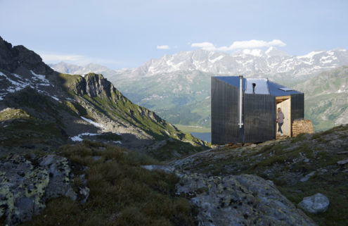 Could this metal hut be the ultimate mountain retreat?