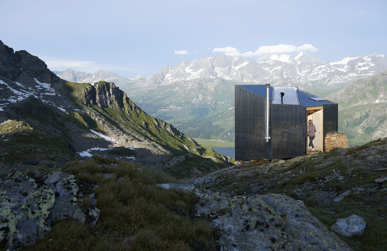 On Mountain Hut